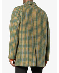 Prada Checked Mac Coat