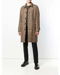 Paltò Checked Single Breasted Coat