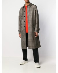 Stella McCartney Checked Single Breasted Coat