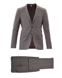 Burberry London Stirling Check Wool Suit