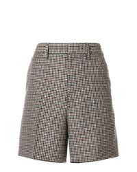Maison Margiela High Waisted Plaid Shorts