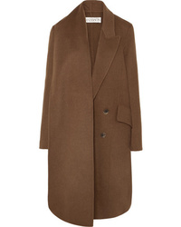 JW Anderson Asymmetric Double Breasted Wool Blend Coat