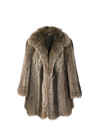 Christian Dior Vintage Possum Fur Coat