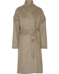 Totme Chelsea Wool Blend Felt Wrap Coat