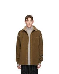 Brown Corduroy Shirt Jacket
