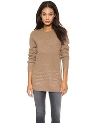 Brown Crew-neck Sweater