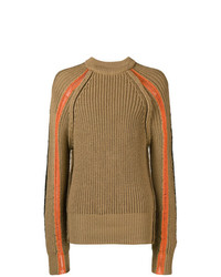 Maison Margiela Chunky Knit Crew Neck Sweater