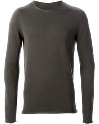 Label Under Construction Rolled Hem Sweater