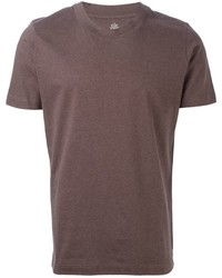 Brown crew neck t shirt original 387090
