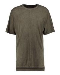Print t shirt brown medium 4161524