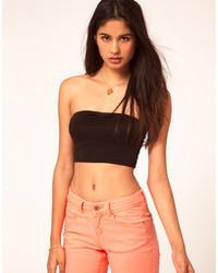 Brown Cropped Top