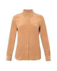 Brett silk shirt medium 152184