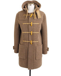 J.Crew Harbour Duffle Coat In English Wool