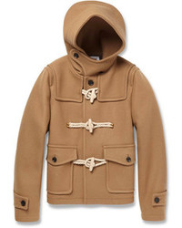 Kolor Wool And Cashmere Blend Duffle Coat