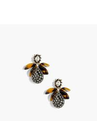 Pav drop earrings with tortoise medium 773955