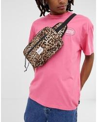 ASOS DESIGN Cross Body Bum Bag In Leopard Print