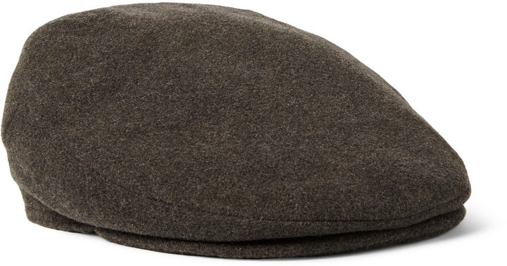 ... Caps Lock   Co Hatters Oslo Wool And Cashmere Blend Flat ... ef431cd214a