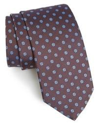 Brown Floral Tie