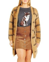 Plus size caramel kisses cardigan medium 757685