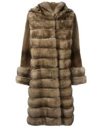 Liska hooded fur coat medium 1317186