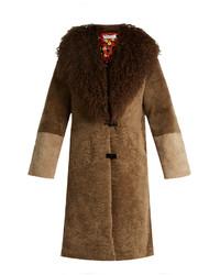 Saks Potts Febbe Berthe Shearling Coat