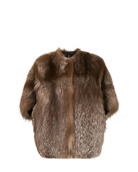 Liska Shortsleeved Fur Coat