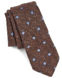 Ted Baker London Geometric Woven Silk Tie