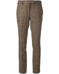 Checked tailored trousers medium 120036