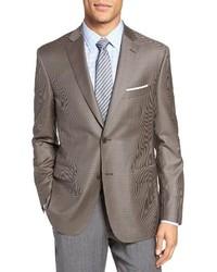 Classic fit check wool sport coat medium 1314697