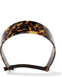 Givenchy Headband In Tortoiseshell Resin One Size