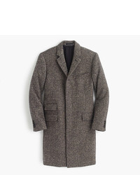 Ludlow topcoat in irish herringbone tweed medium 821955