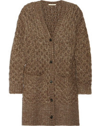 Michl kors honeycomb knit cardigan medium 85548