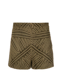 Martha Medeiros Lace Shorts