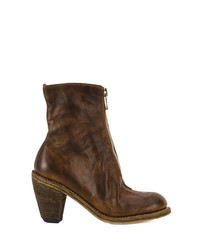 Guidi Heeled Zip Up Boots
