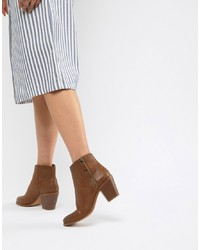 ASOS DESIGN Remedy Zip Ankle Boots