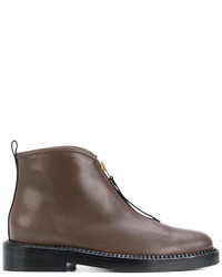 Marni Zip Ankle Boots