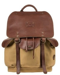 Will Leather Goods Lennon Backpack Beige