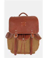 Will Leather Goods Lennon Backpack Tobacco Saddle One Size