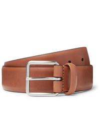 ANDERSON'S 35cm Brown Leather Belt
