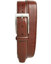 Bill Lavin Belts Two Tone Pebbled Leather Belt