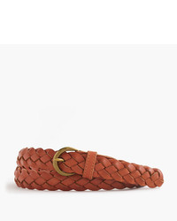J.Crew Braided Leather Belt