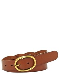 Fossil Braided Leather Belt