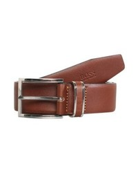 Hugo Boss Froppin Belt Business Medium Brown