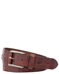 Trafalgar Strafford Crocodile Leather Belt