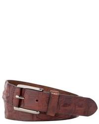 Trafalgar Strafford Crocodile Leather Belt
