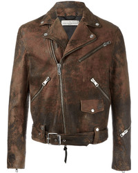 Golden biker jacket medium 3664655