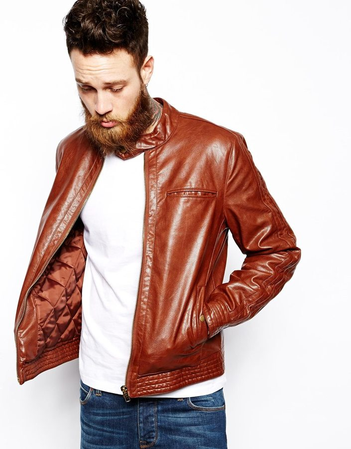 Asos Brand Faux Leather Biker Jacket | Where to buy & how to wear