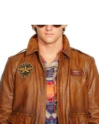 d90d99ffcdb4 ... Polo Ralph Lauren Leather Farrington A2 Jacket
