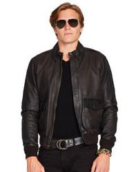 cd30b28b8 Polo Ralph Lauren Leather Farrington A2 Jacket, £818 | Ralph Lauren ...