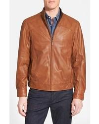 Missani le collezioni leather bomber jacket medium 292322